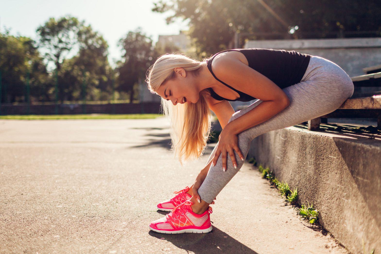 Skurcze nóg i zespół niespokojnych nóg